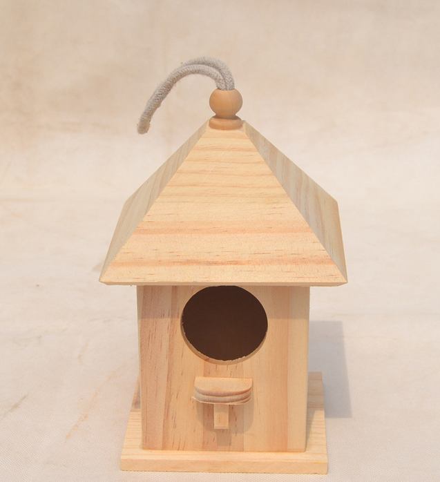 High quality wooden birdhouse