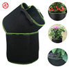 7 Gallon Grow Bags 4 Packs Plants Felt Fabric Growing Pots with Sturdy Nylon Handles