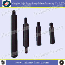 Black straight steel hexgon dowel pins with thread of different size and material