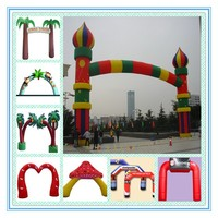 Cheap giant advertising inflatable arch/Inflatable arch gate rental for sale