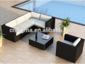 2017 Trade Assurance Most Popular New Style aluminium frame pe rattan comfortable garden sofa set designs