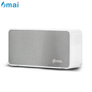 6mai Enhanced 3W Stereo Hifi Super Bass Small Mini Portable Vibration Touch Crystal Wireless Bluetooth Speaker with Mic