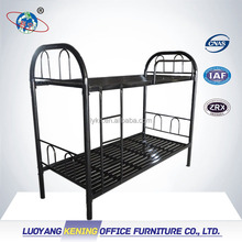 Luoyang supplier superior quality adult bunk beds cheap / steel bed for hostel