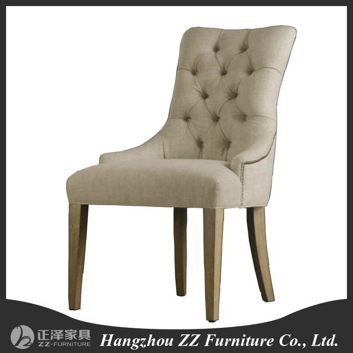 decorative wooden upholstery chair for dining room