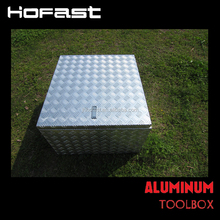 Aluminum waterproof truck tool box