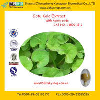 Cosmetic Grade Gotu Kola Extract Asiaticoside Function for Anti-aging