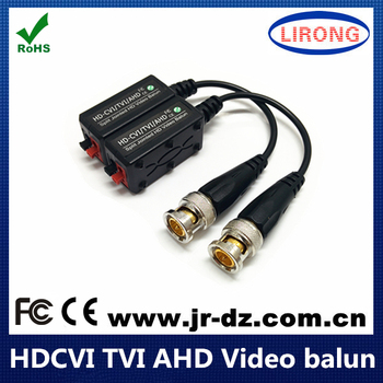 Split Jointed High Definition 1 channel passive HD CVI TVI ahd video balun
