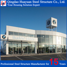 Anti-Corrosion Pre-engineered high rise steel structure building