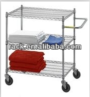 3 Tiers Hotel Service Metal Cart,NSF Approval