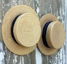 Free Samples custom wholesale cheap wide brim natural colorful burket straw boaters school boater hat