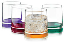 12 oz Impressions Colors Rocks Glass Set