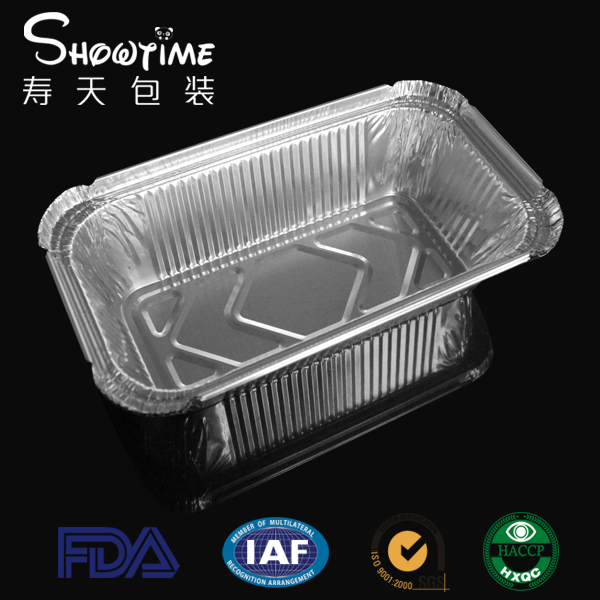 aluminum foil container for food/ NO6A aluminum foil container
