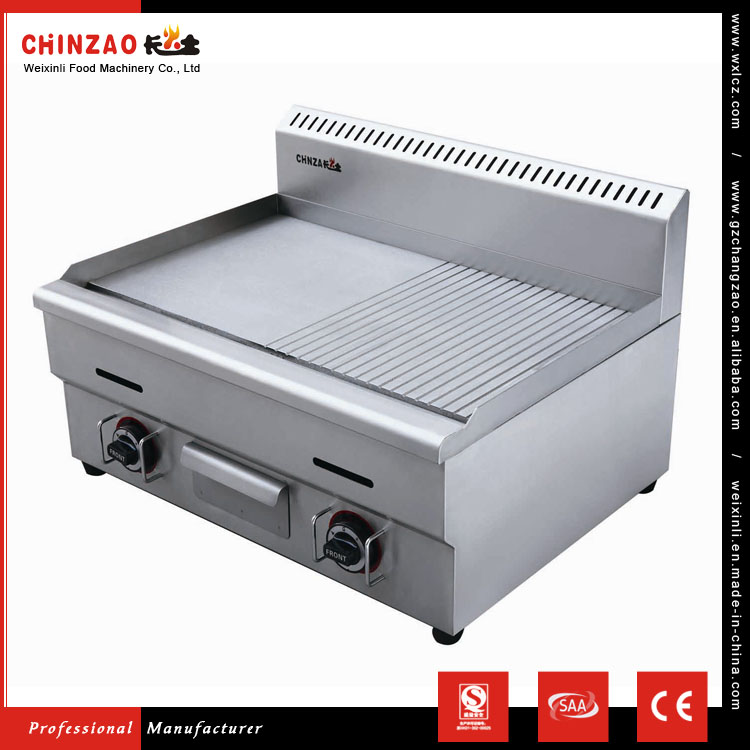CHINZAO Chinese Factory Hot Sale 16.5*8.8*6.3cm Tray Dosa Griddle Gas Griddle With Iron Plate