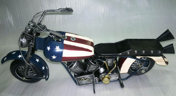 2015 new Handmade Motorcycle Model for home decoration