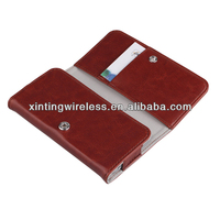 Simple Design Flip PU Leather Case For iphone5 Leather Flip Case For Mobile phone case
