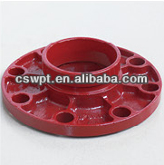 FM/UL ductile cast iron pipe couplings & fittings flange