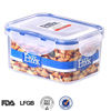 food grade PP airtight small wholesale plastic container with lid
