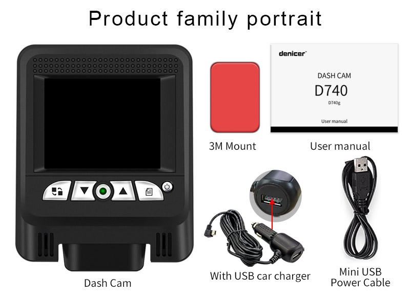 Full HD 1080P Hidden Dash Cam Wifi Novatek 96658 + Sony 323
