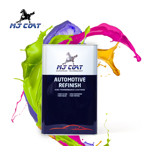 MJ COAT Brand high gloss acrylic lacquer auto 2K car paint