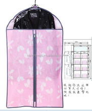hot seller wholesale cotton fabric garment bag with length handle