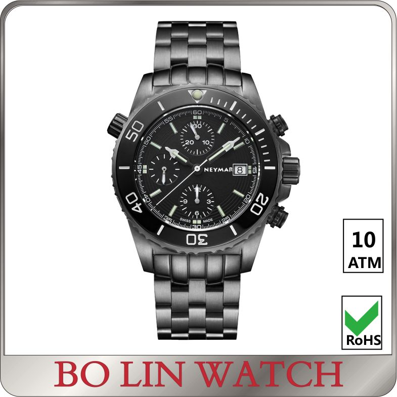 Chinese wrist watch, own logo watch men, high end customize watch