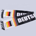 European cup custom new design wholesale acrylic football blanket cashmere scarf