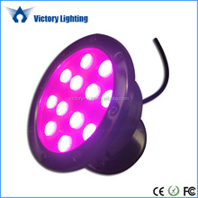 ce rohs stainless steel outdoor ip68 multicolor rgb 24v led Marine light