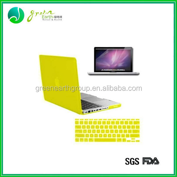 Colorful laptop custom silicone keyboard cover, laptop keyboard silicone skin cover for asus Macbook Air and Macbook Pro