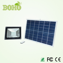 rechargeable outdoor solar led flood light IP65 waterproof