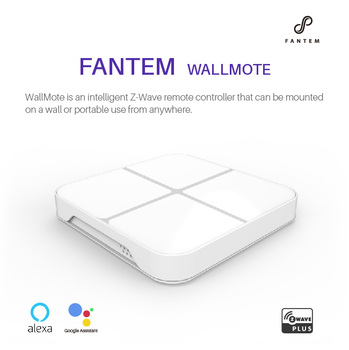 Fantem Wallmote Wireless Alexa and Google Home Z-wave Smart Home Wall Switch