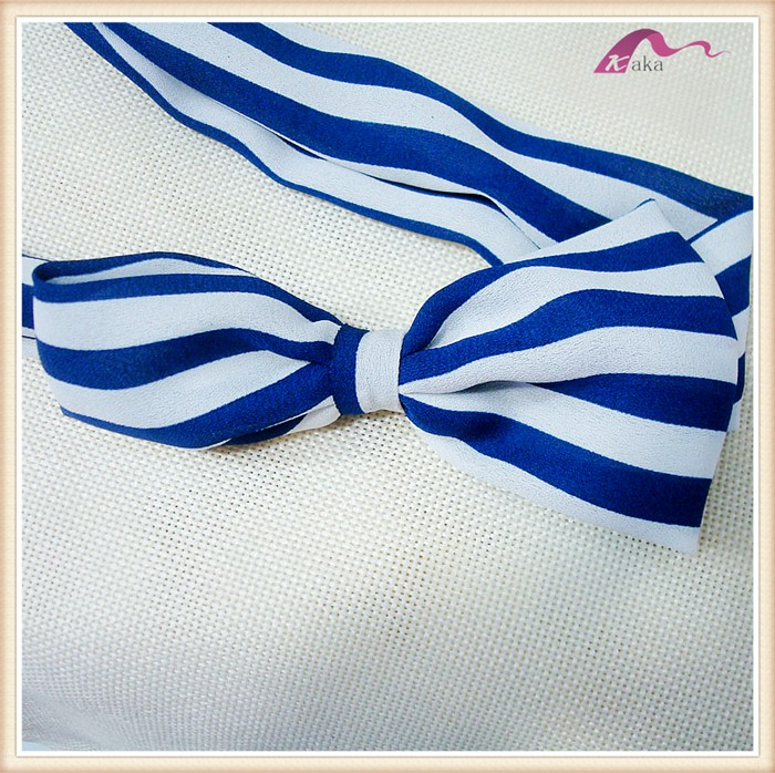 Stripe Elastic Headband Baby Head Wrap With Bow Accessories Wholesale