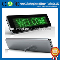 Most Popular Advertising Board Full Colour Bus Led Sign Table LED Display