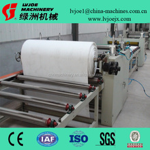 coating and laminating machine for gypsum ceiling tiles with pvc film