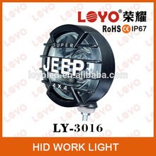 "6"" Built-in 6000K H3 35W 55W Xenon HID 4x4 Off Road Light Fog Driving Lamp for SUV/Truck"