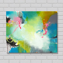 easy paint beautiful abstract paintings for living room decor