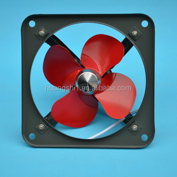Free standing high efficiency low noise exhaust fan electric fan with heavy air volum