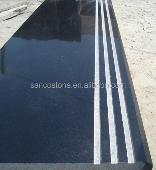 Polished Surface Finishing and Granite Type a quality black cosmic granite tiles 60x60