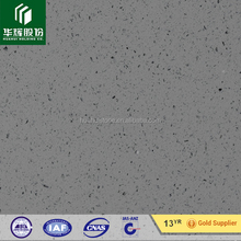 Artificial grey stone sparkling grey shinning artificial quartz stone