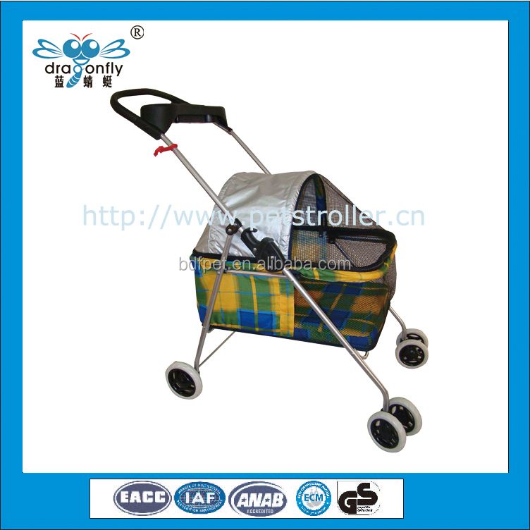 Aluminium Not dog trolley / folding dog trolley / walking pet carrier
