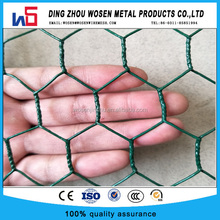 galvanized chicken mesh wire/rabbit garden fence