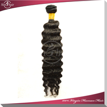 Beauty max 5A Grade 8inch-32inch virgin natural color deep wave human brazilian remy hair