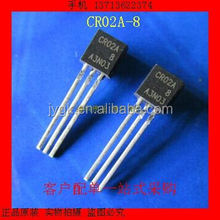 New CR02A - 8 CR02AM - 8 two-way thyristor TO92 straight--WKWY2