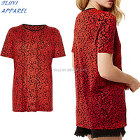 Apparel Wholesale ladies red T Shirt,made in china best selling super soft new model t-shirt,Custom t shirt printing in china