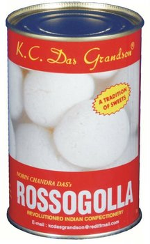 CANNED ROSSOGOLLA / RASGULLA 500gm pack