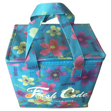 full color polyester thermal insulated cooler bag