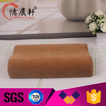 Bamboo pillow comfortable for hotel and family
