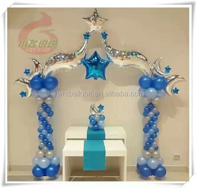 "2016 New S shaped Foil Helium Balloon 18""24""36"" Multicolor For Wedding Party Decoration Balloon"