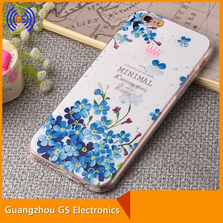 2D Sublimation Mobile Phones Case,For Iphone 6s Case Tpu