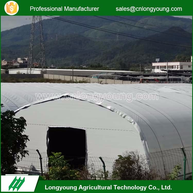 Wholesale easy assembly hot galvanized pipe greenhouse for sale