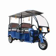 Quality High Differential Motor Tuk Tuk 6 Passengers Electric Rickshaw Taxi